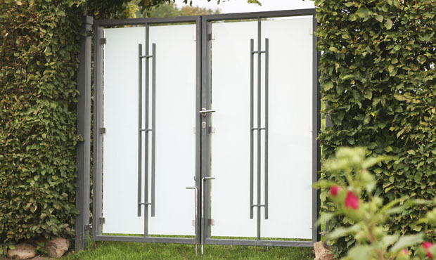edelstahl tore metallbau schuhmacher monzelfeld. Black Bedroom Furniture Sets. Home Design Ideas